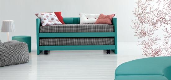disegno idea » divani letto per camerette - idee popolari per il ... - Letti Imbottiti Treviso