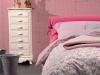 Allison, un letto coi fiocchi.