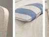 tessuto e cuscini: i dettagli
