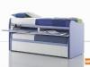 piano scrivania estraibile nel letto