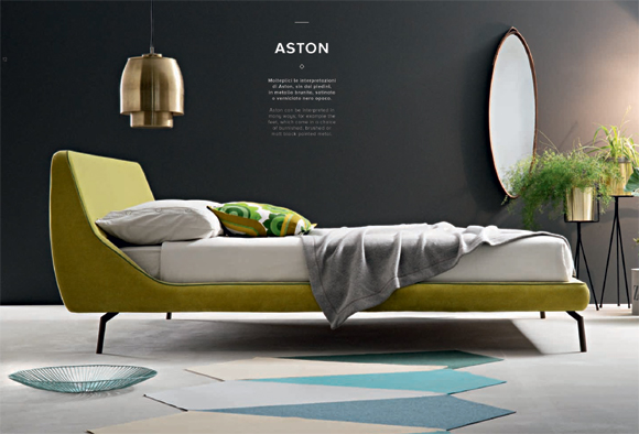 Letti Di Design In Offerta : Letto matrimoniale moderno di design aston
