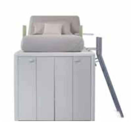 Castello con sotto cabina armadio - Cassetti sotto il letto ...