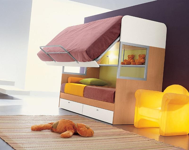 Castello merlino fisso for Ikea letto ribaltabile