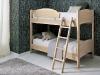 letti a castello in legno massello