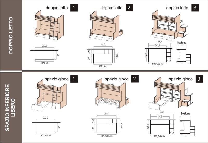 Disegno Idea » scaletta per letto a castello Scaletta Per ; Scaletta ...