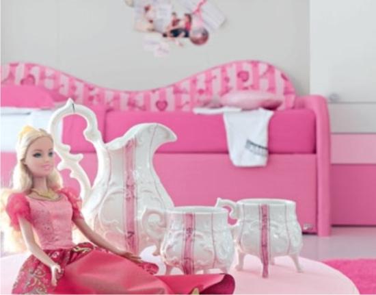 Camera da letto di barbie - Letto barbie prezzo ...