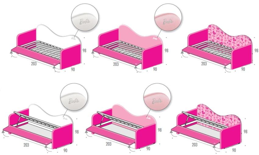 Dimensioni letto singolo cameretta idee creative e - Misure lenzuola letto singolo ...