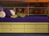 giotto letto doimo con 4 cassetti