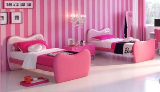 Letto imbottito barbie glam da doimo cityline - Letti per ragazze ikea ...