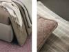 cuscini in tessuto