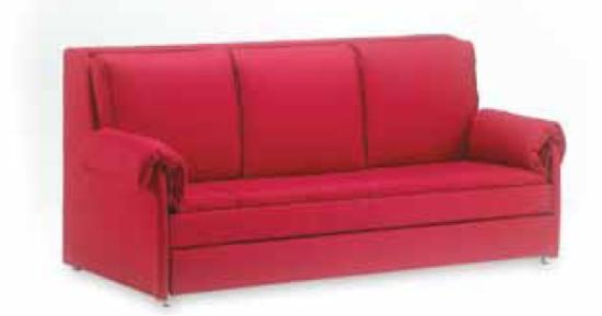 divano letto a castello mr hide: tre letti in un divano