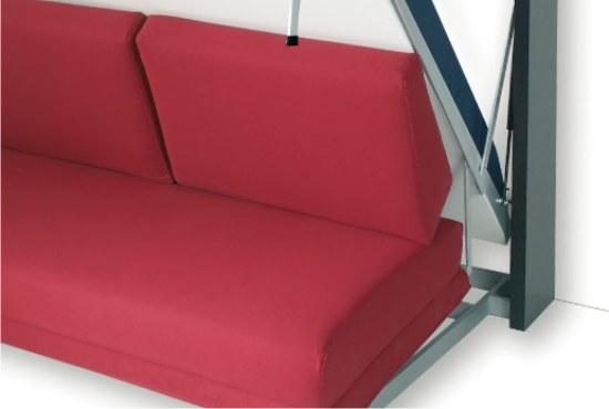Letto matrimoaniale a scomprasa houdini verticale for Meccanismo per divano letto