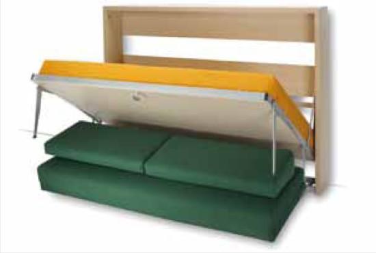 Mobile letto a scomparsa houdini con divano - Mobili letto a scomparsa prezzi ...