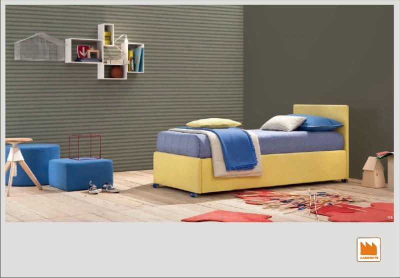 Letto imbottito joy venice divano con contentitore - Trucchetti per durare di piu letto ...