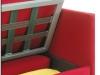 Perticolare contenitore divano