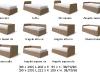 misure del letto mizar