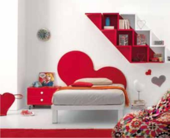 Mobili camere da letto per ragazze design casa creativa e mobili ispiratori - Camere da letto moderne per ragazze ...