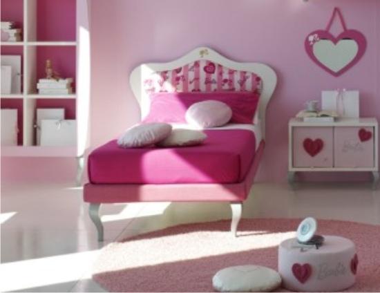 Letto barbie romantik in vendita da letti outlet for Baite in legno da 2 letti in vendita