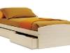 letto con cassettoni
