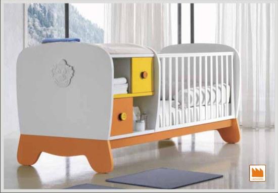 Lettino clown trasformabile camerette per bambini doimo for Misure materasso lettino