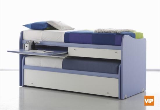 Misure (letto superiore): Larghezza: 92,5 cm Lunghezza: 215 cm Altezza ...