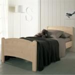 letto in legno massello classico da scandola
