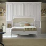 camera da letto in vero legno massello