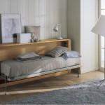 mobili letto in vero legno