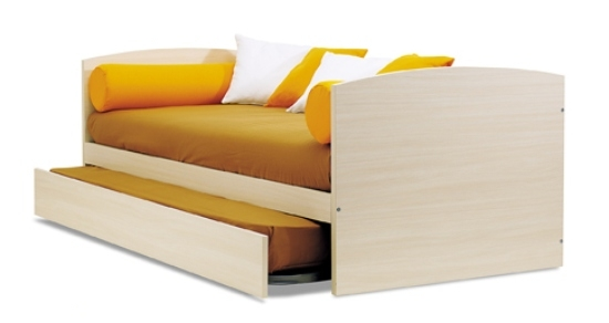 tiramolla divano in legno