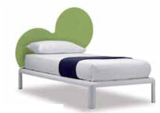 letto singolo o ad una piazza e mezzo