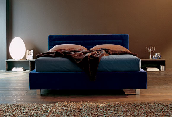 letto loft con cassettoni
