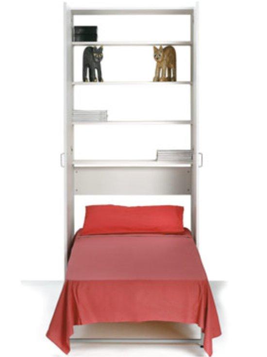 Armadio letto Lear singolo a scomparsa verticale