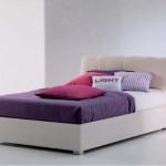 letto contenitore in legno