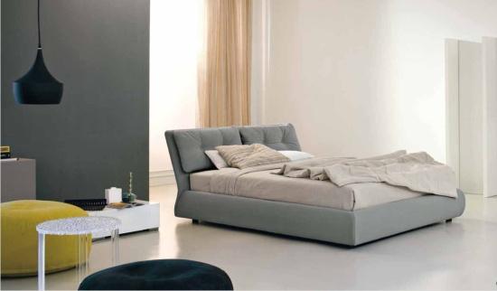 letto imbottito moderno bogart