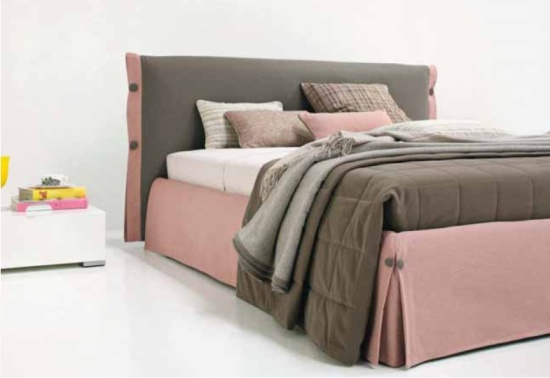 Letto rosa Helen