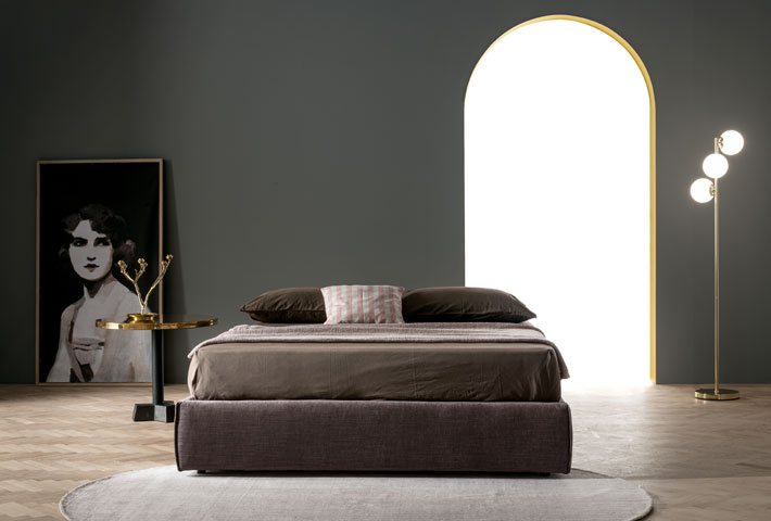 letto sommier contenitore easy