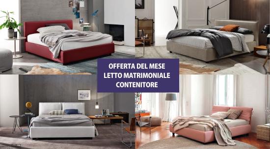 Letto Matrimoniale Contenitore In Offerta | Canonseverywhere