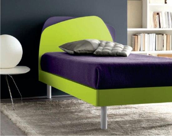 Krono letto verde e viola