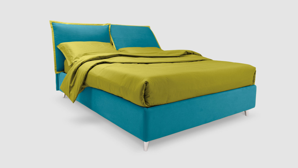 Letto imbottito so pop di noctis con testiera reclinabile for Ikea letto francese