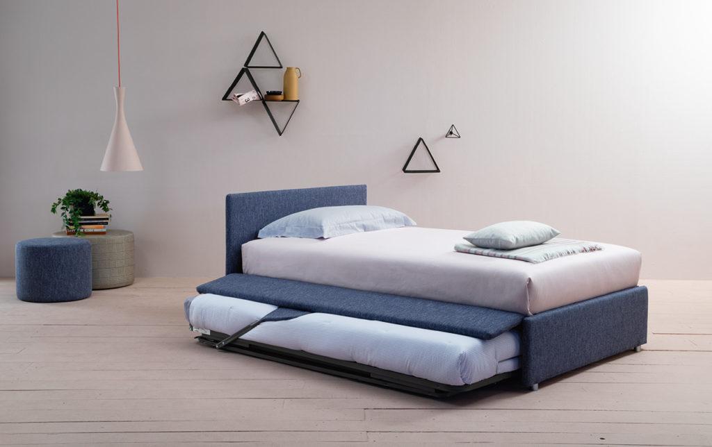 letto piazza e mezzo con secondo letto