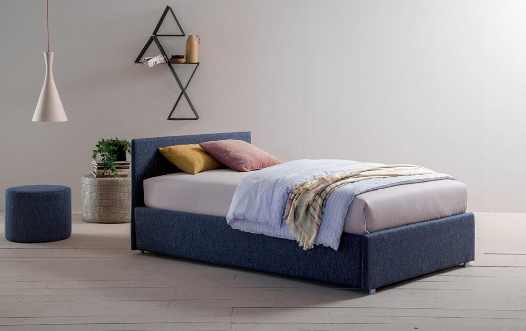 letto piazza e mezzo con estraibile